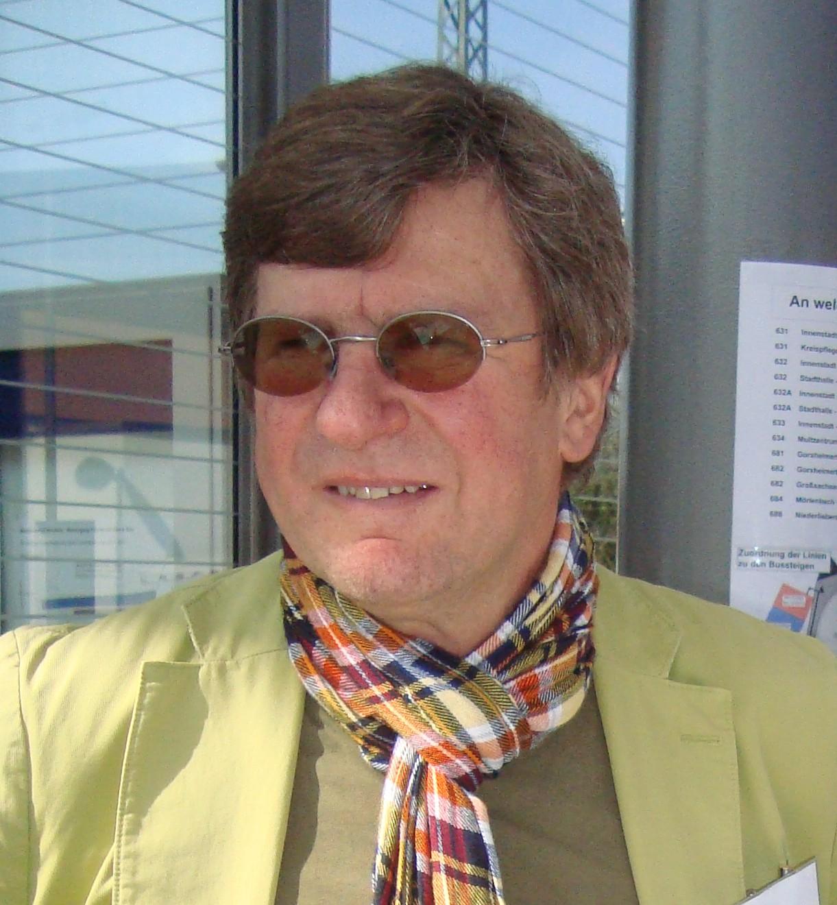 Dr. Boguslawski am RTE Stand